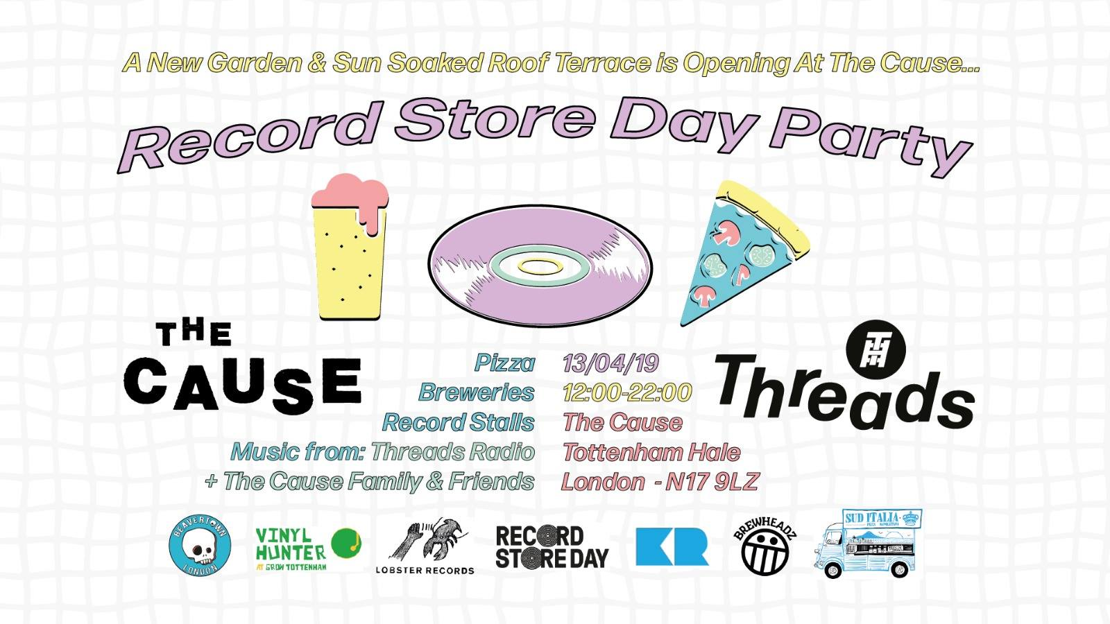 Record Store Day at The Cause (13/04/19)