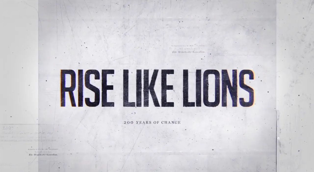 Rise Like Lions (An audiovisual exhibition exploring the Peterloo Massacre in Manchester 1819)