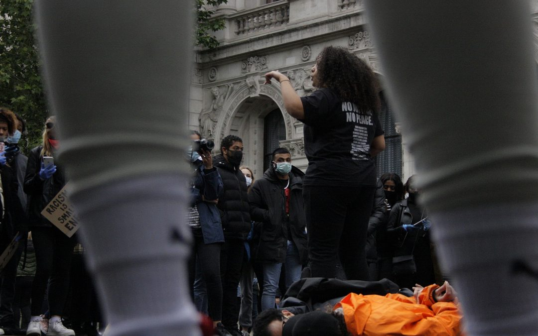 """It's never going to stop until everything's broken down and rebuilt again"" – Voicing the Black Lives Matter Protesters"