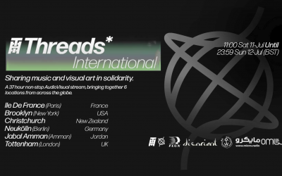 Threads* International – 11/12-Jul-20