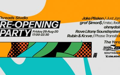 Threads Studio Re-Opening Party – 28-Aug-20
