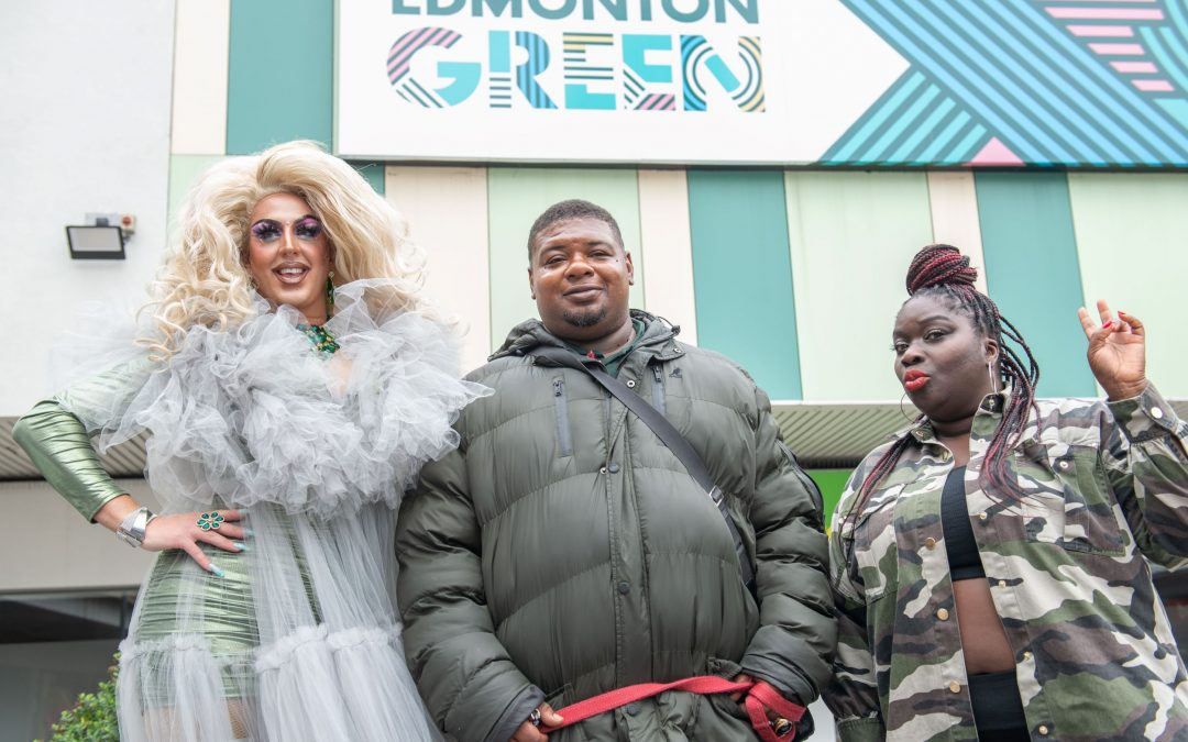 Big Narstie, Sissy Lea and Abena The Actress help to raise funds for local Edmonton charities